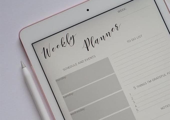 Editorial calendars will help you stick to a schedule