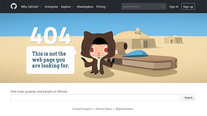 Add a Custom 404 Error Page