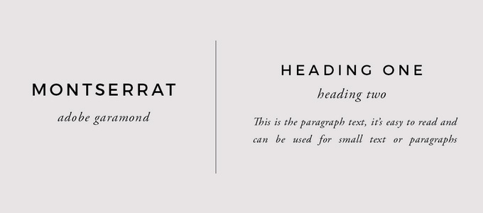 Brand font pairings