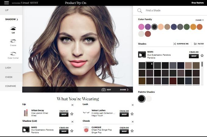 AR in web design