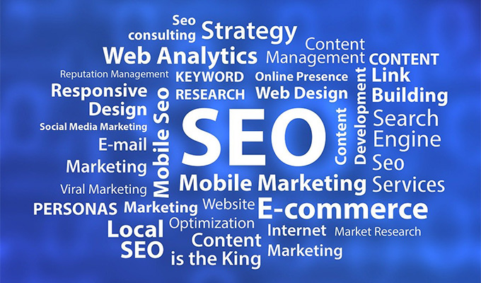 SEO connected to web design, marketing, e-commerce and other aspects of an online presence.