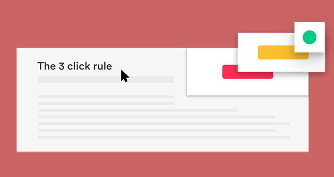 The Three-Click Rule