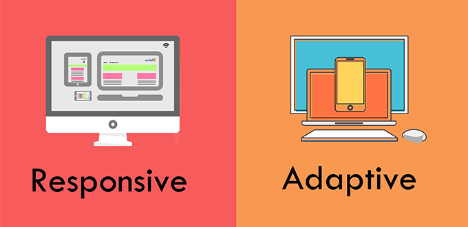 Responsive .vs Adaptive