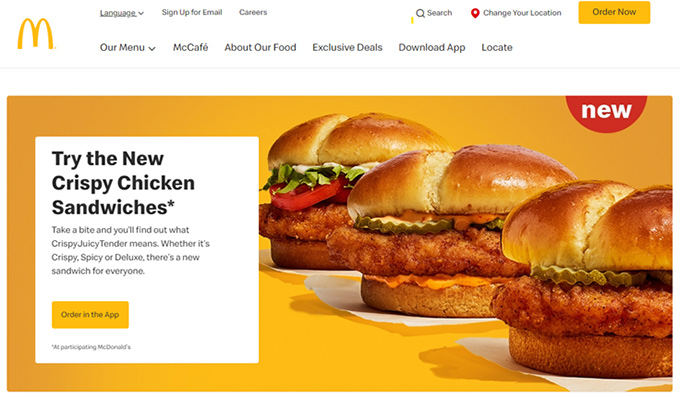 McDonald's in the US
