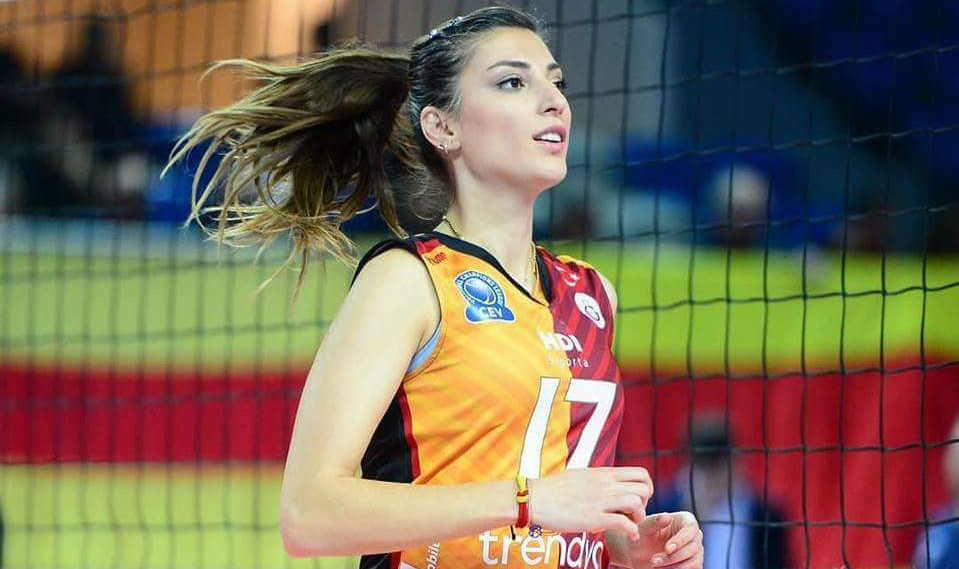 Volleyball player francesca piccinini