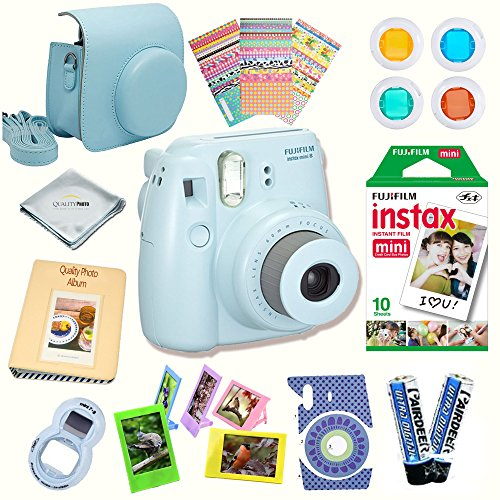 FoRapid 6 Pieces Instax Mini Color Close-Up Lens Color Filter for Fujifilm Instax Mini 9//8// 8+// 7S// Hello Kitty Instant Film Cameras and Polaroid 300 Instant Film Camera