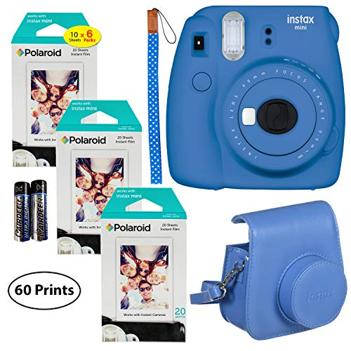 Cobalt Blue CELION 64 Pockets Mini Photo Album for Fujifilm Instax Mini 11 9 8 8 7s 25 26 50s 70 90