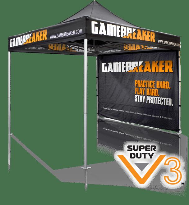 V3 trade show canopy