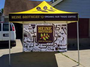heine brothers 10x10 tent