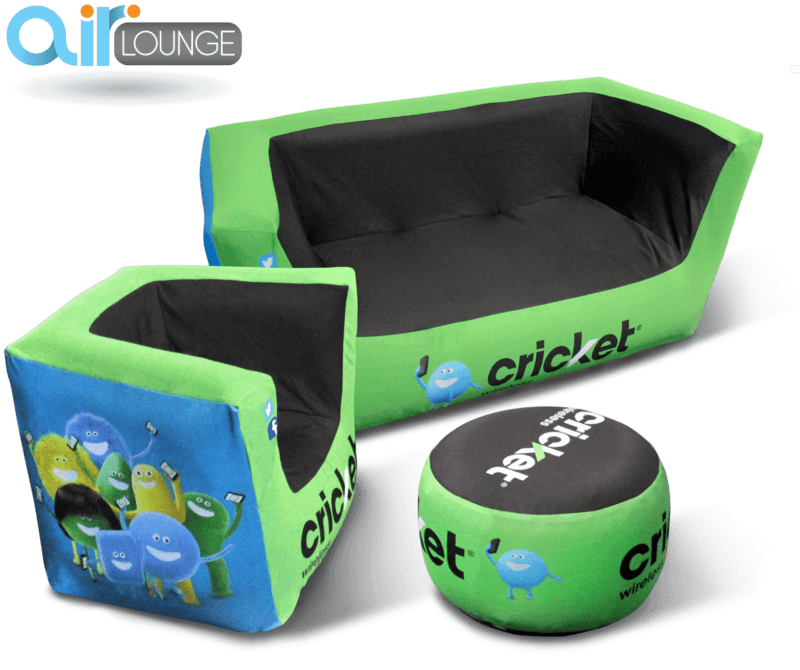 airlounge inflatable furniture