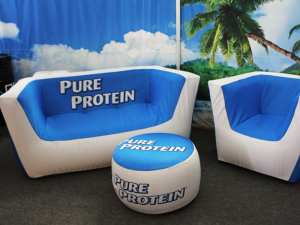 tradeshow inflatable furniture