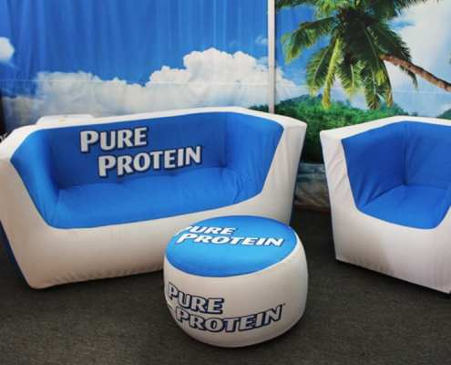tradeshow inflatable furniture