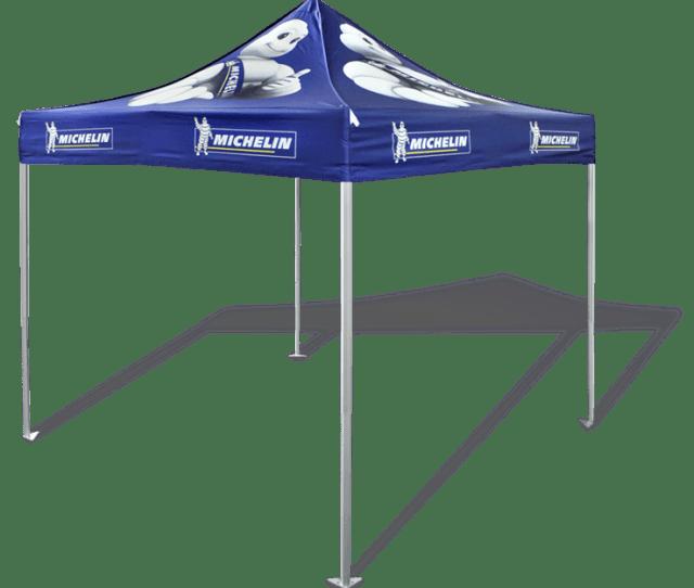 X Custom Tent