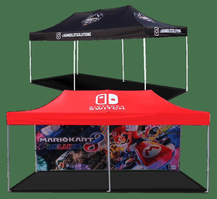 10x20 custom tents