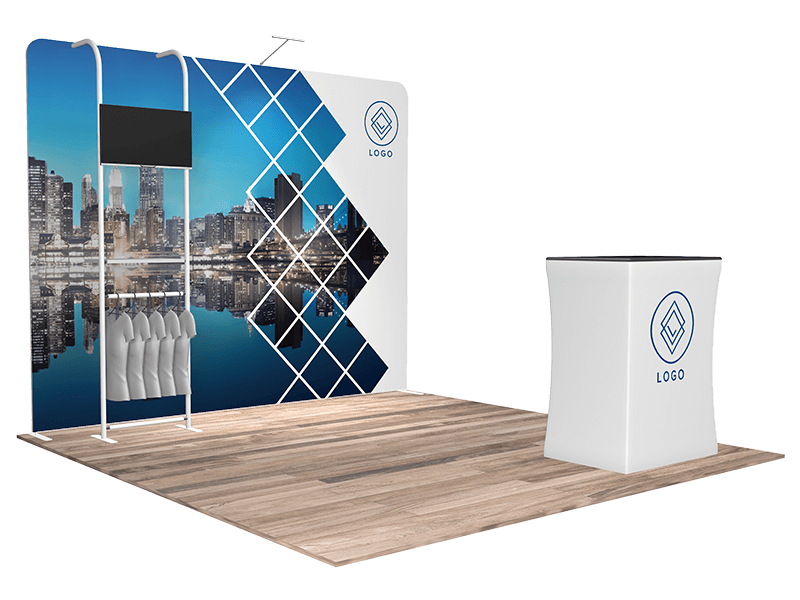 10x10 tradeshow booth 1112