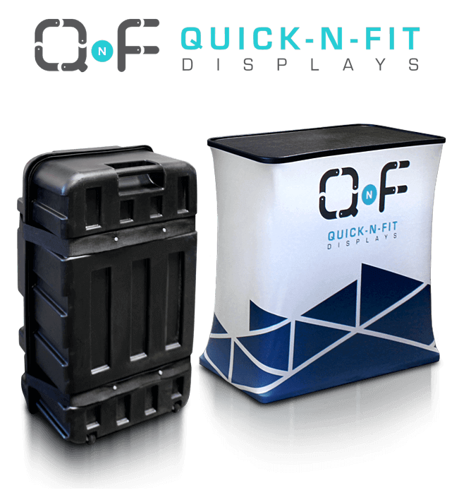 Quick n fit tradeshow counter