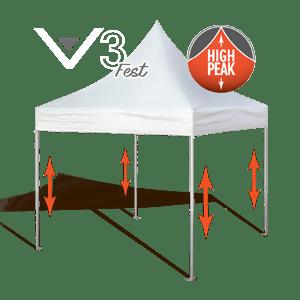 Carnival High Peak Pop Up Tents