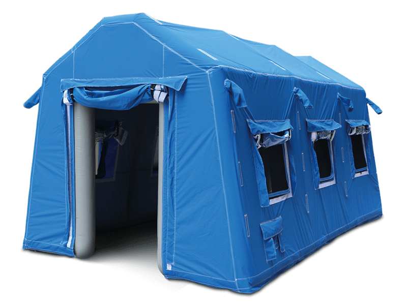 inflatable decontamination tents