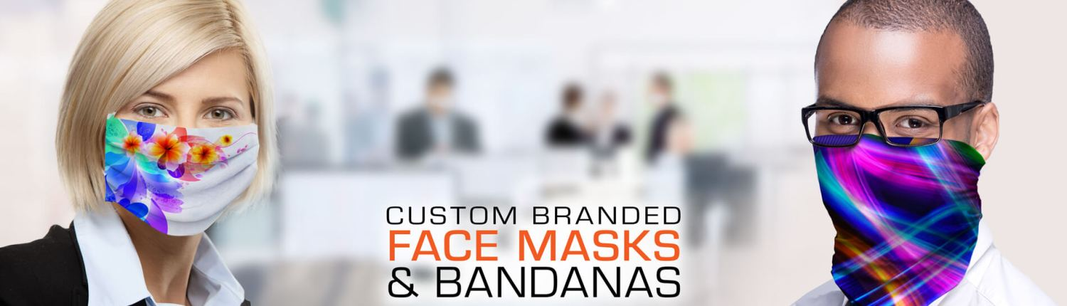Custom Branded Face Masks and Bandanas