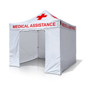 pop up medical tent