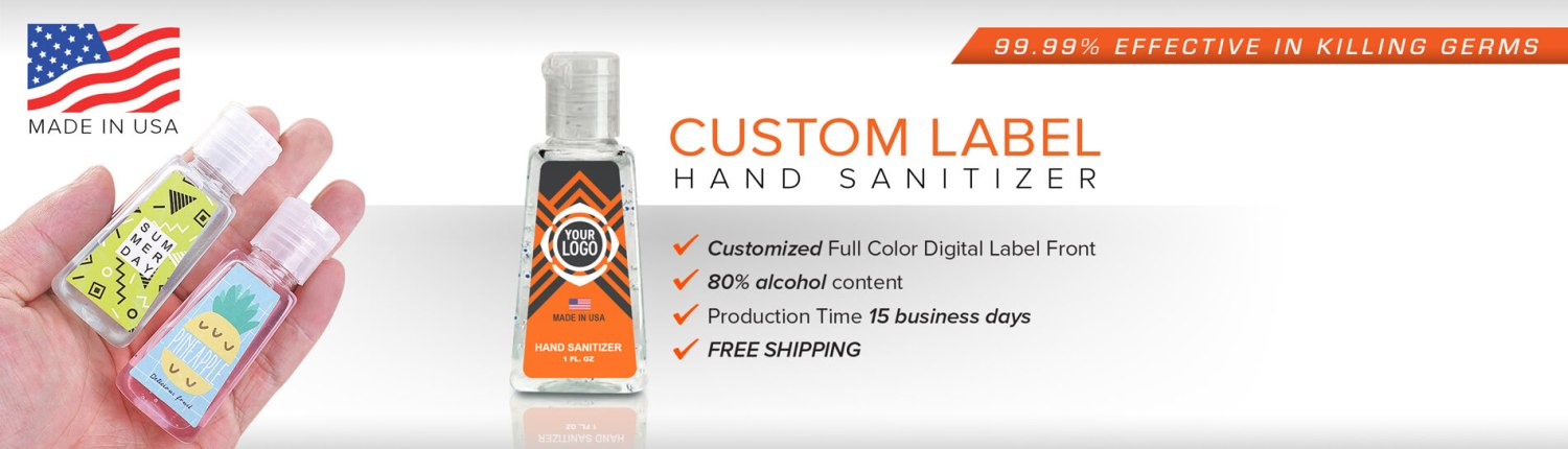 Custom Branded Hand Sanitizer