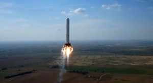 foguete spaceX 2