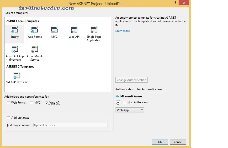 AngularJS Upload Multiple Files to ASP Net Web API – Instinct Coder