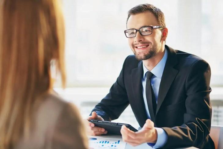 Bewerbungsgespräch nach erfolgreicher Weiterbildung
