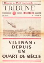 Couverture Tribune Socialiste N°268, 8 Janvier 1966