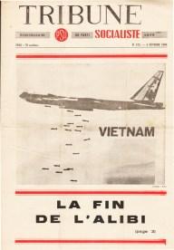 Couverture Tribune Socialiste N°272, 5 Février 1966