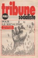 couverture Tribune Socialiste N°628 supplément Septembre 1974