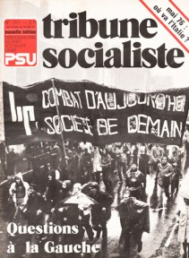 Couverture TS N°701, 13-19 Mai 1976