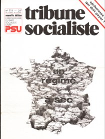 Couverture TS N°711, 16-23 septembre 1976