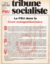 Le PSU dans le front autogestionnaire, Tribune Socialiste N°772, 2-8 Février 1978