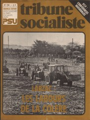 Couverture Tribune Socialiste N°798, 12-18 Octobre 1978