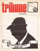 couverture de Tribune Socialiste du 9 Novembre 1970