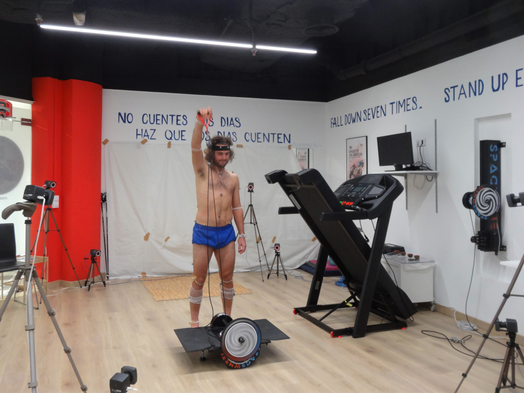 THE INSTITUT CATALÀ DEL PEU, BIOMECHANICAL DEPARTMENT OF THE CATALAN TENNIS FEDERATION, CONDUCTS A BIOMECHANICAL ANALYSIS TO THE TENNIS PLAYER MARCO TRUNGELLITI.