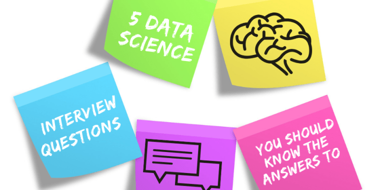 5 data science questions