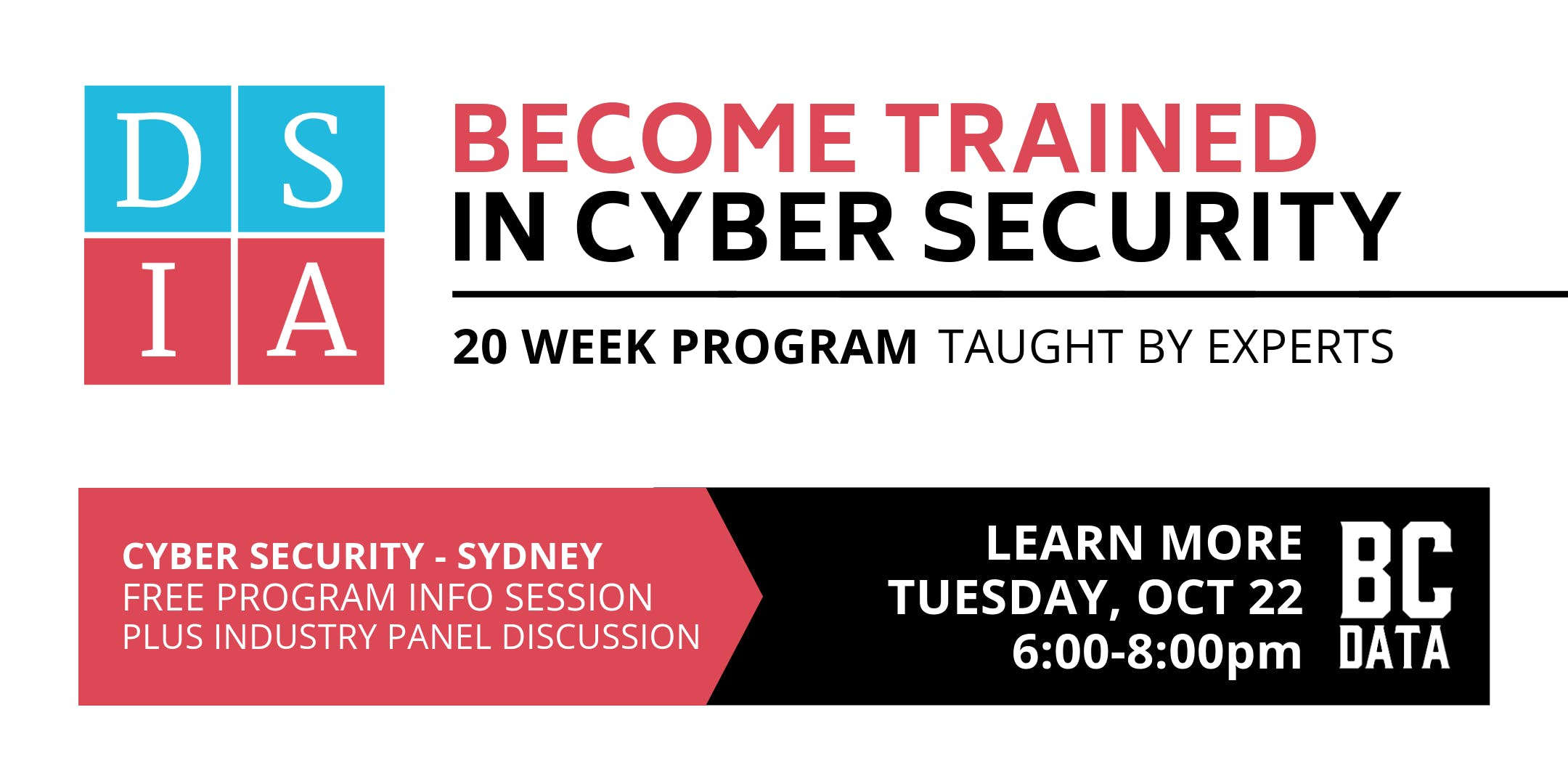 Career Change to Cyber Security in 20-weeks Sydney