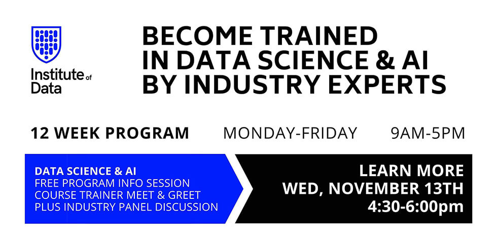 Data Science & AI Career and program info Session 4:30