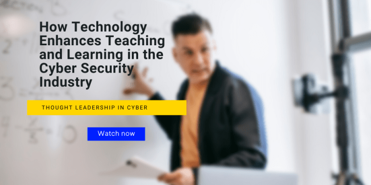 teaching and learning in cyber