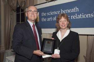 Dr. Maureen Taylor receives Pathfinder Award