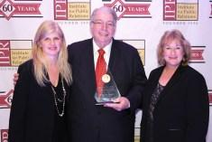 Tina McCorkindale, Patrick Ford and Linda Rutherford