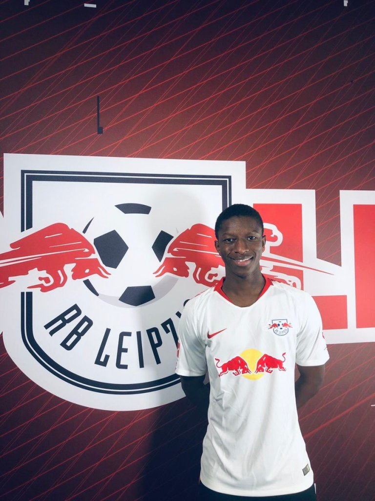 Amadou Haidara du RB Leipzig retour au jeu suite au corona virus