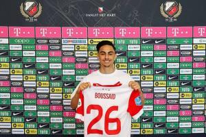 L'espoir de JMG belgo-marocain Othman Boussaid a prolongé de trois ans son contrat avec le FC Utrecht
