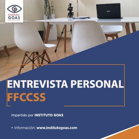 Entrevista Personal FFCCSS