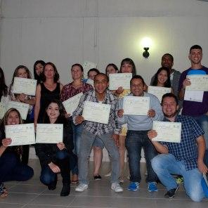 Mais 39 alunos receberam seus certificados no Qualifiplast