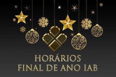Horários Final de Ano