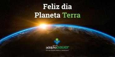 Feliz dia Planeta Terra