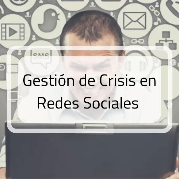 Curso gestión de crisis en redes sociales